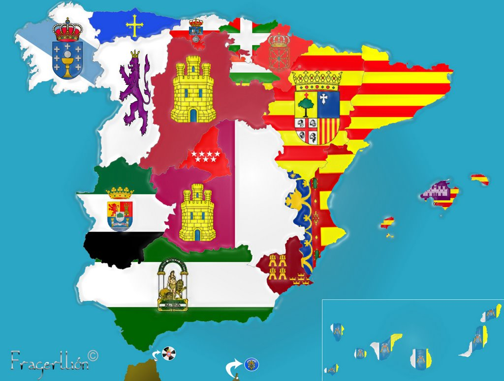 Estado Federal o Estado autonómico y de provincias de Madrid (capital del reino de España)