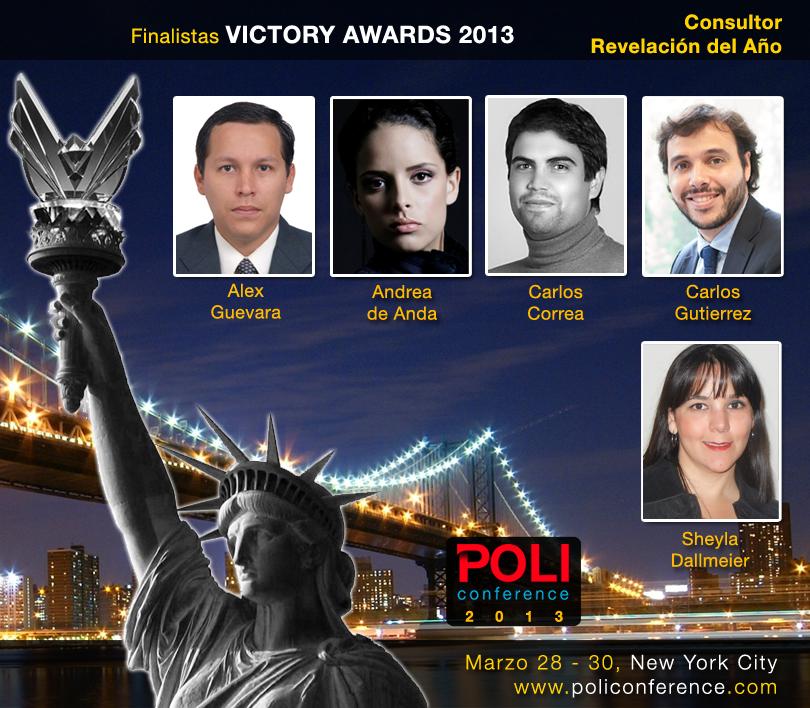 Carlos Correa, Finalista al Victory Award como Consultor Revelación del Año