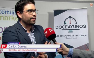 """Carlos Correa, en los Doceayunos de PR Noticias: """"En la era del contenido, midamos el contenido""""."""