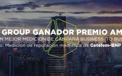 Cecubo Group, ganador de los AMEC Awards 2018