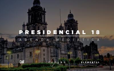 Cecubo Group, Elemental y CyE analizarán el perfil mediático de los candidatos durante la campaña presidencial de México